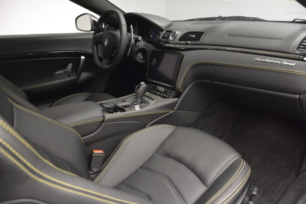New 2018 Maserati GranTurismo Sport for sale Sold at Bugatti of Greenwich in Greenwich CT 06830 18