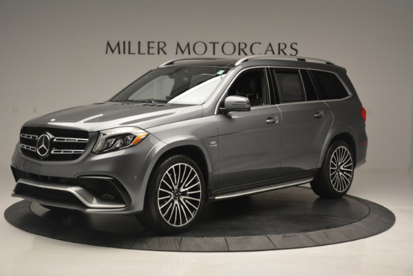 Used 2017 Mercedes-Benz GLS AMG GLS 63 for sale Sold at Bugatti of Greenwich in Greenwich CT 06830 2