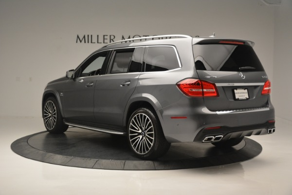 Used 2017 Mercedes-Benz GLS AMG GLS 63 for sale Sold at Bugatti of Greenwich in Greenwich CT 06830 5
