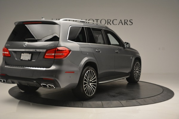 Used 2017 Mercedes-Benz GLS AMG GLS 63 for sale Sold at Bugatti of Greenwich in Greenwich CT 06830 8