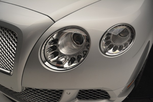 Used 2013 Bentley Continental GT W12 Le Mans Edition for sale Sold at Bugatti of Greenwich in Greenwich CT 06830 18