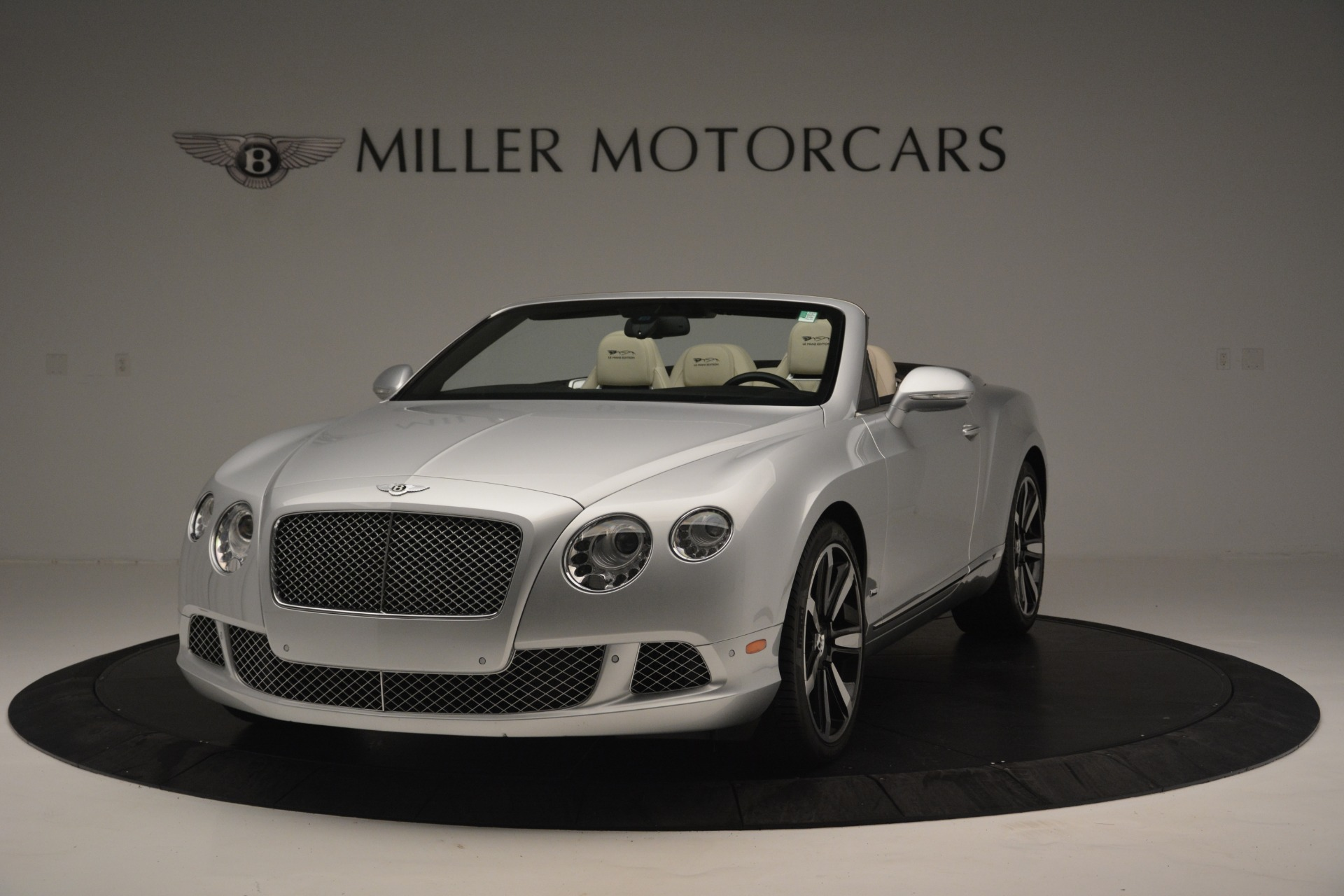 Used 2013 Bentley Continental GT W12 Le Mans Edition for sale Sold at Bugatti of Greenwich in Greenwich CT 06830 1
