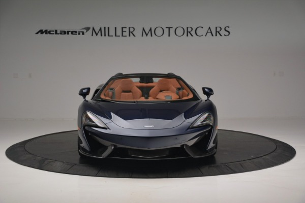 New 2019 McLaren 570S Spider Convertible for sale Sold at Bugatti of Greenwich in Greenwich CT 06830 12
