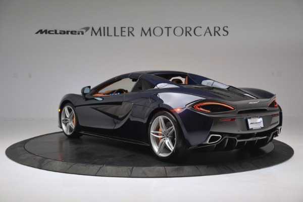 New 2019 McLaren 570S Spider Convertible for sale Sold at Bugatti of Greenwich in Greenwich CT 06830 17