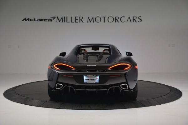 New 2019 McLaren 570S Spider Convertible for sale Sold at Bugatti of Greenwich in Greenwich CT 06830 18