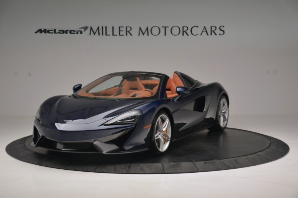 New 2019 McLaren 570S Spider Convertible for sale Sold at Bugatti of Greenwich in Greenwich CT 06830 2