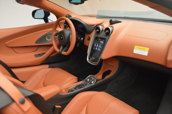 New 2019 McLaren 570S Spider Convertible for sale Sold at Bugatti of Greenwich in Greenwich CT 06830 26