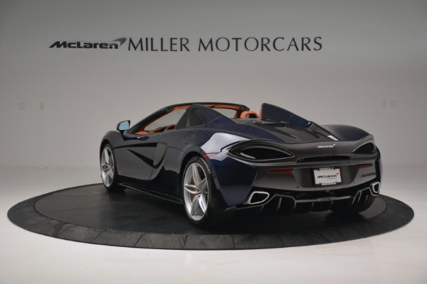 New 2019 McLaren 570S Spider Convertible for sale Sold at Bugatti of Greenwich in Greenwich CT 06830 5