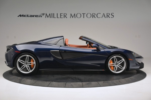 New 2019 McLaren 570S Spider Convertible for sale Sold at Bugatti of Greenwich in Greenwich CT 06830 9