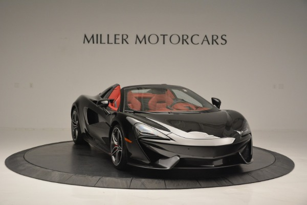 New 2019 McLaren 570S Convertible for sale Sold at Bugatti of Greenwich in Greenwich CT 06830 11
