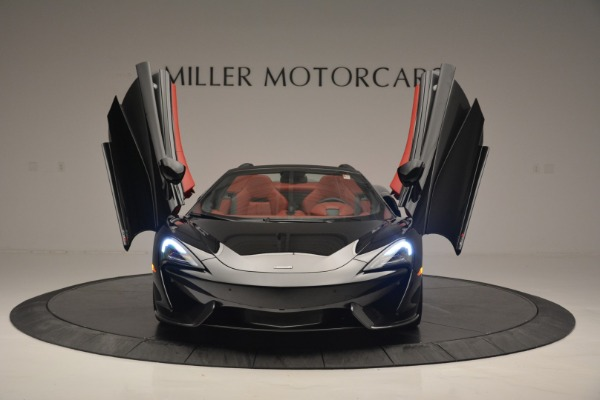 New 2019 McLaren 570S Convertible for sale Sold at Bugatti of Greenwich in Greenwich CT 06830 13