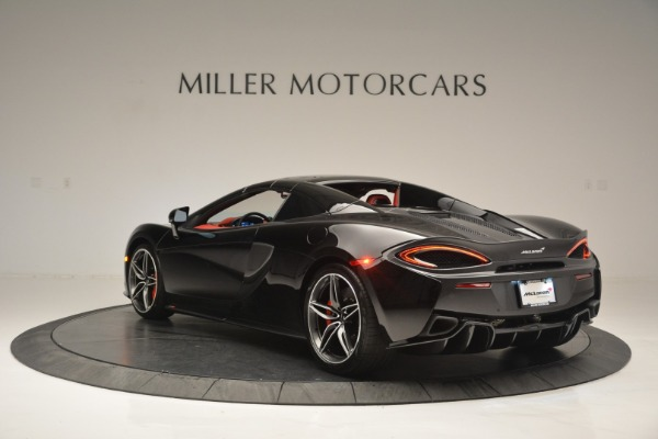 New 2019 McLaren 570S Convertible for sale Sold at Bugatti of Greenwich in Greenwich CT 06830 17