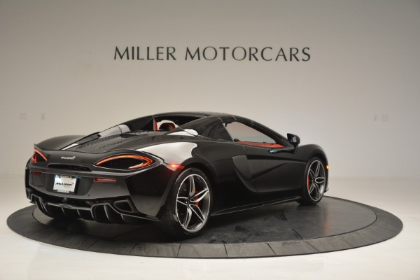 New 2019 McLaren 570S Convertible for sale Sold at Bugatti of Greenwich in Greenwich CT 06830 19