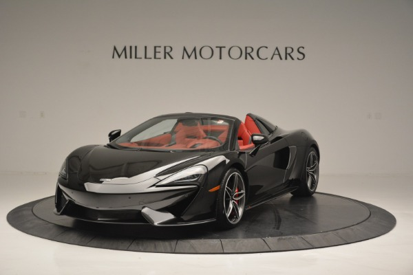 New 2019 McLaren 570S Convertible for sale Sold at Bugatti of Greenwich in Greenwich CT 06830 2