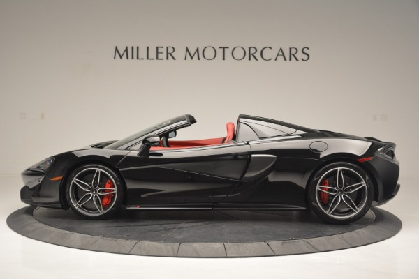 New 2019 McLaren 570S Convertible for sale Sold at Bugatti of Greenwich in Greenwich CT 06830 3
