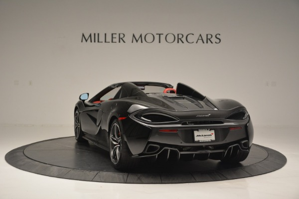 New 2019 McLaren 570S Convertible for sale Sold at Bugatti of Greenwich in Greenwich CT 06830 5
