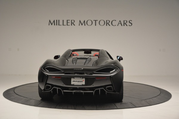 New 2019 McLaren 570S Convertible for sale Sold at Bugatti of Greenwich in Greenwich CT 06830 6