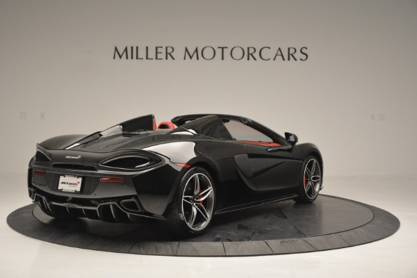 New 2019 McLaren 570S Convertible for sale Sold at Bugatti of Greenwich in Greenwich CT 06830 7
