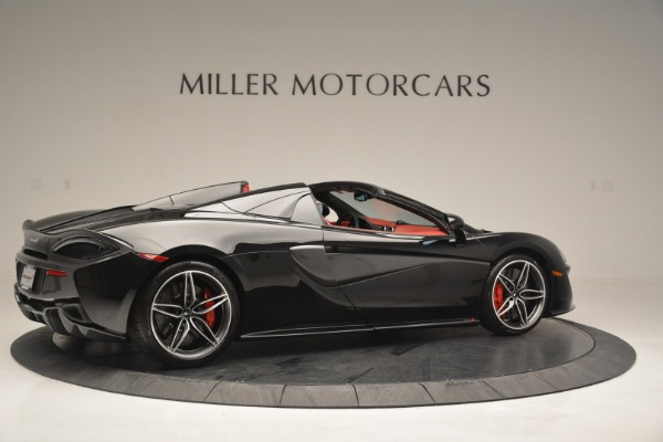 New 2019 McLaren 570S Convertible for sale Sold at Bugatti of Greenwich in Greenwich CT 06830 8