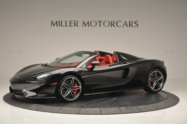 New 2019 McLaren 570S Convertible for sale Sold at Bugatti of Greenwich in Greenwich CT 06830 1
