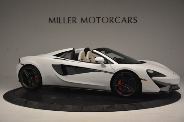 Used 2019 McLaren 570S Spider Convertible for sale $169,900 at Bugatti of Greenwich in Greenwich CT 06830 10
