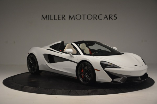 Used 2019 McLaren 570S Spider Convertible for sale $169,900 at Bugatti of Greenwich in Greenwich CT 06830 11