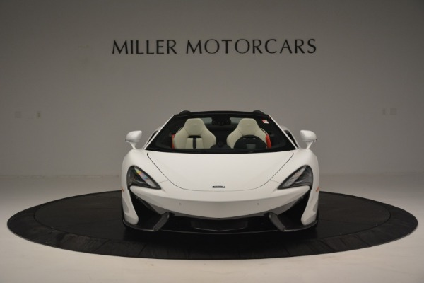 Used 2019 McLaren 570S Spider Convertible for sale $169,900 at Bugatti of Greenwich in Greenwich CT 06830 12