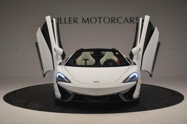 Used 2019 McLaren 570S Spider Convertible for sale $169,900 at Bugatti of Greenwich in Greenwich CT 06830 13
