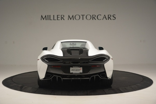 Used 2019 McLaren 570S Spider Convertible for sale $169,900 at Bugatti of Greenwich in Greenwich CT 06830 18