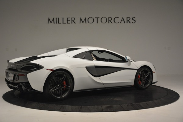 Used 2019 McLaren 570S Spider Convertible for sale $169,900 at Bugatti of Greenwich in Greenwich CT 06830 19
