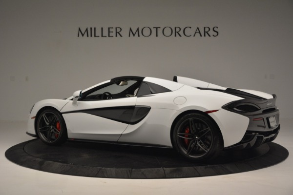 Used 2019 McLaren 570S Spider Convertible for sale $169,900 at Bugatti of Greenwich in Greenwich CT 06830 4
