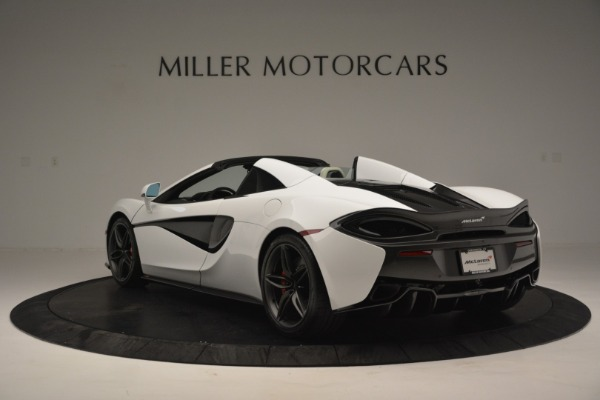 Used 2019 McLaren 570S Spider Convertible for sale $169,900 at Bugatti of Greenwich in Greenwich CT 06830 5