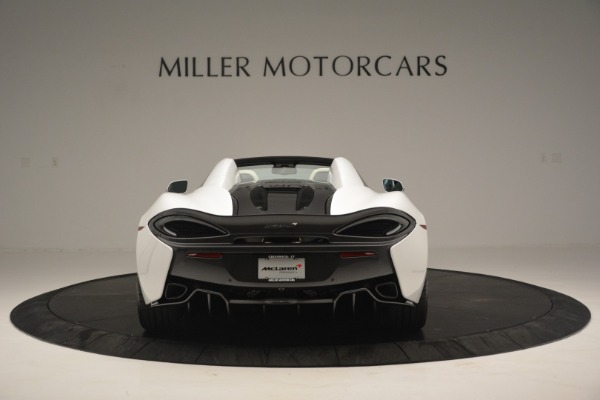 Used 2019 McLaren 570S Spider Convertible for sale $169,900 at Bugatti of Greenwich in Greenwich CT 06830 6