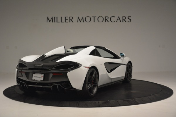 Used 2019 McLaren 570S Spider Convertible for sale $169,900 at Bugatti of Greenwich in Greenwich CT 06830 7