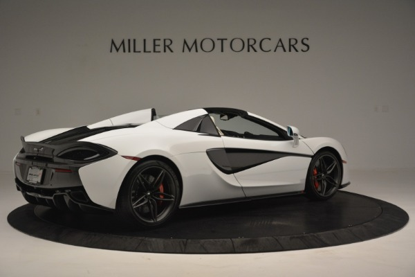 Used 2019 McLaren 570S Spider Convertible for sale $169,900 at Bugatti of Greenwich in Greenwich CT 06830 8