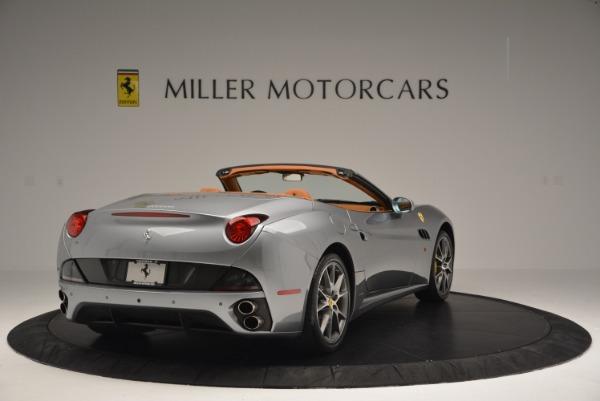 Used 2012 Ferrari California for sale Sold at Bugatti of Greenwich in Greenwich CT 06830 7