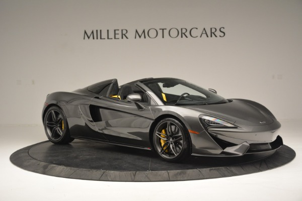 Used 2019 McLaren 570S Spider Convertible for sale $189,990 at Bugatti of Greenwich in Greenwich CT 06830 10