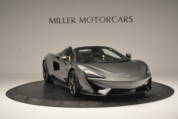 Used 2019 McLaren 570S Spider Convertible for sale $189,990 at Bugatti of Greenwich in Greenwich CT 06830 11