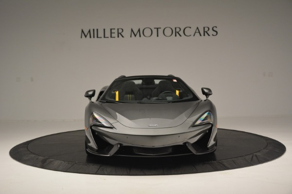 Used 2019 McLaren 570S Spider Convertible for sale $189,990 at Bugatti of Greenwich in Greenwich CT 06830 12