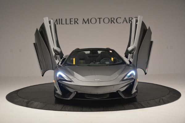 Used 2019 McLaren 570S Spider Convertible for sale $189,990 at Bugatti of Greenwich in Greenwich CT 06830 13