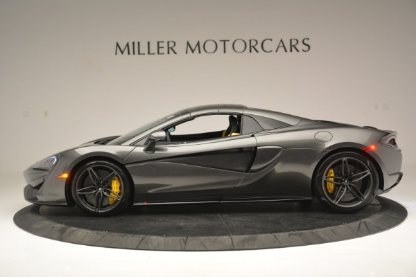 Used 2019 McLaren 570S Spider Convertible for sale $189,990 at Bugatti of Greenwich in Greenwich CT 06830 16