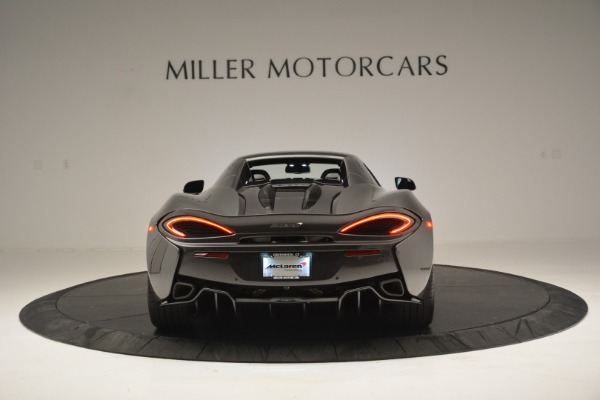 Used 2019 McLaren 570S Spider Convertible for sale $189,990 at Bugatti of Greenwich in Greenwich CT 06830 18