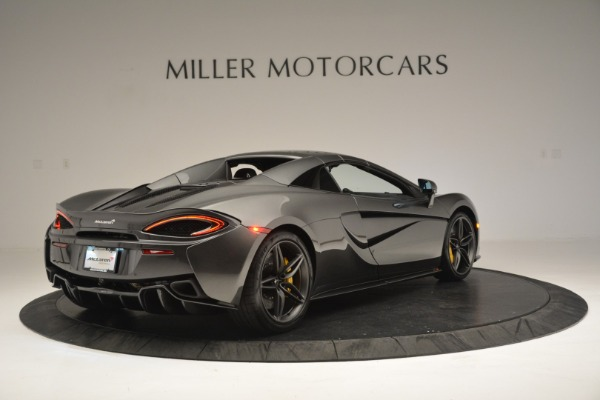 Used 2019 McLaren 570S Spider Convertible for sale $189,990 at Bugatti of Greenwich in Greenwich CT 06830 19