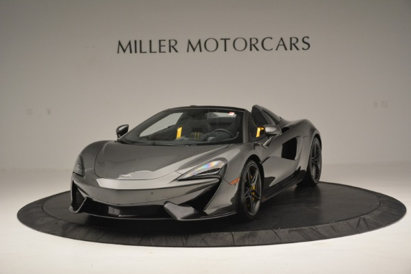 Used 2019 McLaren 570S Spider Convertible for sale $189,990 at Bugatti of Greenwich in Greenwich CT 06830 2