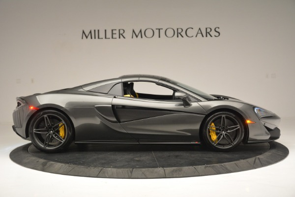 Used 2019 McLaren 570S Spider Convertible for sale $189,990 at Bugatti of Greenwich in Greenwich CT 06830 20