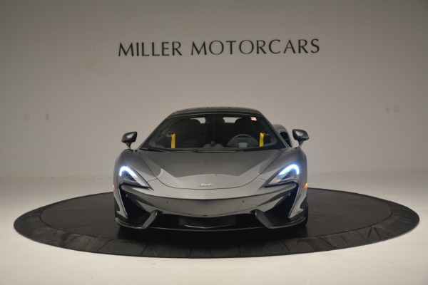 Used 2019 McLaren 570S Spider Convertible for sale $189,990 at Bugatti of Greenwich in Greenwich CT 06830 22