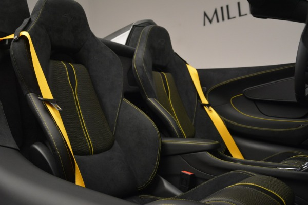 Used 2019 McLaren 570S Spider Convertible for sale $189,990 at Bugatti of Greenwich in Greenwich CT 06830 27