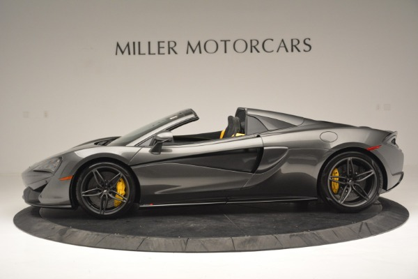 Used 2019 McLaren 570S Spider Convertible for sale $189,990 at Bugatti of Greenwich in Greenwich CT 06830 3
