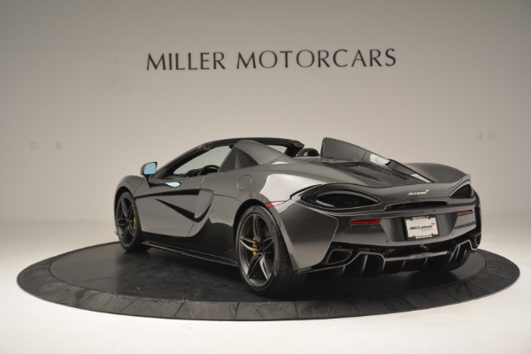 Used 2019 McLaren 570S Spider Convertible for sale $189,990 at Bugatti of Greenwich in Greenwich CT 06830 5