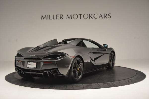 Used 2019 McLaren 570S Spider Convertible for sale $189,990 at Bugatti of Greenwich in Greenwich CT 06830 7